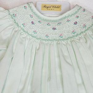 Royal child Dresses - Smocked dress